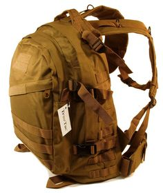 TravTac Standard Size Tactical MOLLE Backpack