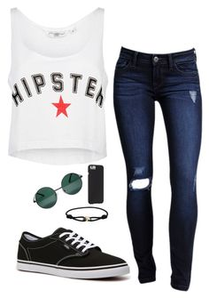 """""""End of Summer Style"""" by ms-stylista-dancer ❤ liked on Polyvore featuring Vans, Cartier, YHF and Case-Mate"""