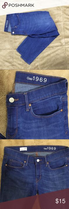 Gap 1969 legging jean Gap 1969 legging jean in excellent condition! Thanks for looking! Open to trades and offers! GAP Jeans Ankle & Cropped