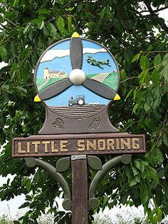 Little Snoring Village sign.jpg