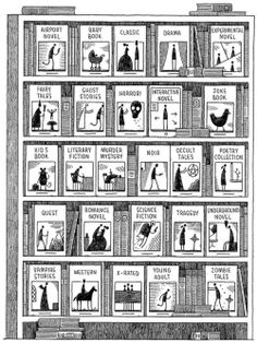 Tom Gauld: An Alphabet of Books | The Casual Optimist
