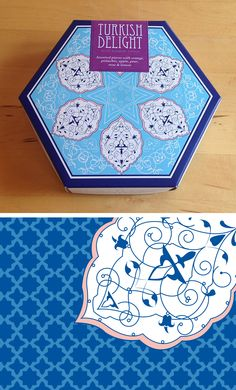 Pickle Design created this packaging and pattern for Buttermilk Confection's…