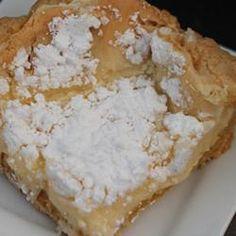 Ooey Gooey Butter Cake!!! The best recipe ever!