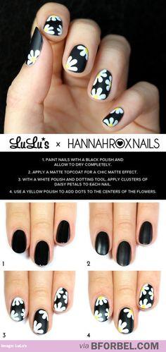 DIY Daisy Nails…