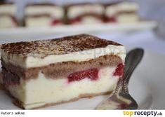 Tvarohovo-ovocný zákusok Slovak Recipes, Czech Recipes, Russian Recipes, Ethnic Recipes, Gluten Free Cakes, Sweet Recipes, Food To Make, Sweet Tooth, Sweet Treats