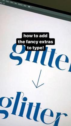 Graphic Design Lessons, Graphic Design Fonts, Graphic Design Tutorials, Graphic Design Illustration, Graphic Design Inspiration, Typography Design, Lettering, Web Design, Typography Tutorial