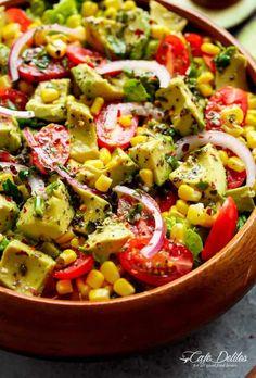 Avocado Corn Tomato Salad