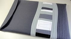 Sew Sisters Quilt Shop: Kona Club Challenge - Laptop Case Tutorial by M-R Charbonneau