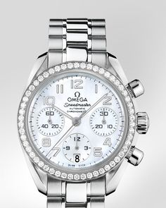 Omega Speedmaster Lady s watch. Steel on Steel. http   www.thesterlingsilver 86a3edd733