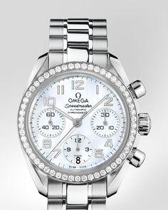 OMEGA Watches: Speedmaster Speedmaster Chronograph 38 mm - Steel on steel - 324.15.38.40.05.001