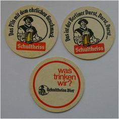 Vintage Schultheiss Beer Mats x 3 on eBid United Kingdom