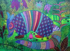 Magpie, Vera Bradley Backpack, Folk Art, Popular Art, Eurasian Magpie