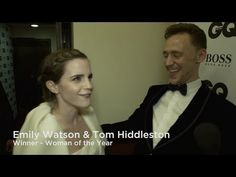 Tom Hiddleston and Emma Watson choose their Man and Woman of the Year at GQ Awards 2013