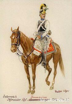 .Austria; Cuirassier Regt Sommariva 1812