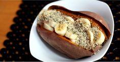 This 4-Ingredient High-Protein Sweet Potato Breakfast Takes 5 Minutes!