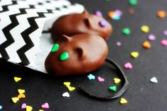 Chocolate Mice from The Night Circus <3
