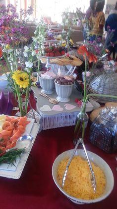 salmon Crumpets, Waffles, Salmon, Table Decorations, Home Decor, Buns, Decoration Home, Room Decor, Atlantic Salmon