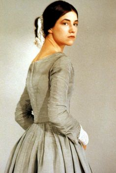 Charlotte Gainsbourg as 'Jane Eyre' in the 1996 British film Jane Eyre 1996, Jane Eyre Movie, Jane Austen, Charlotte Gainsbourg, Charlotte Bronte, Bronte Novels, North And South, Bronte Sisters, Famous Novels