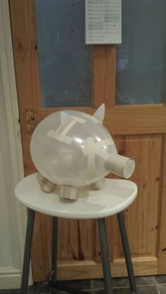Paper Mache Piggy Banks. My mom did these with my brother and I when we were little and it was SO much fun!