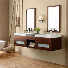Ronbow 010123-1 Rebecca 61 in. Double Bathroom Vanity Set - RON576