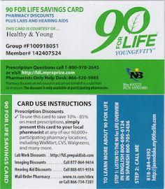 Save 10%  - 85% on medciation. This is a helpful discount prescription card for anyone who purchases life saving drugs.  We have a band member who has diabetes and this is a great thing for him.  Please pass this on and help others.  cheers!
