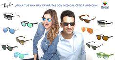 ¡Cómo mola este juego/sorteo de @medicaloptica para ganar unas gafas Ray-Ban!