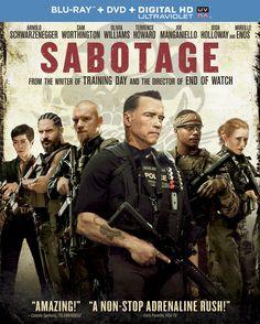 Sabotage 2014 720p BluRay Hindi Dubbed 720pmkv Movies