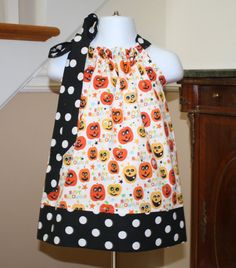 Hey, I found this really awesome Etsy listing at http://www.etsy.com/listing/107718915/happy-pumpkins-girls-pillowcase-dress