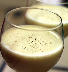 Fort Bragg, NC - Which eggnog is the best to serve around the holidays? There's one easy and fun way to find out — have an eggnog tasting party! Vegan Eggnog Recipe, Vegan Recipes, Drink Recipes, Vegan Foods, Yummy Drinks, Yummy Food, Fun Drinks, Cold Drinks, Joyous Health