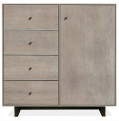Hudson Small Cabinets with Wood Base - Cabinets & Armoires - Living - Room & Board