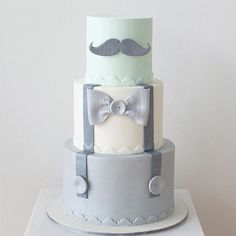 Baby shower cake for a party styled by @perfectlysweetlolliebuffet  Based off a photo of a design provided by the client