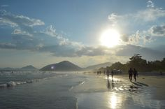 Itamambuca Beach, Ubatuba, Brazil
