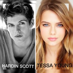 Daniel sherman (HARDIN SCOTT) and Indiana Evans (TESSA YOUNG) #HESSA ❤️
