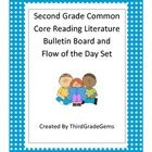 Are you tired of writing out the Common Core Standards for your bulletin boards or flow of the day?  This is a typed up copy of the 2nd grade reading literature standards. $