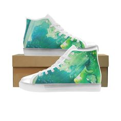 Environmental Custom Light Up Women Art on shoes  On high tops and low top  sneakers aef6a7f641dc