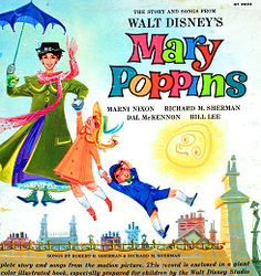 We had this Mary Poppins LP