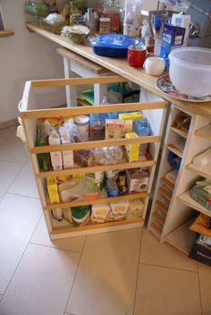 Mobiles Küchenregal – mobile kitchen rack