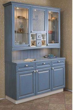 Blue Furniture, Refurbished Furniture, Furniture Upholstery, Upcycled Furniture, Furniture Projects, Kitchen Furniture, Furniture Makeover, Diy Furniture, Furniture Design