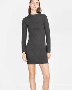 SHIMMER THREAD DRESS-Mini-Dresses-WOMAN | ZARA United States