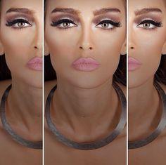 Bronz makeup