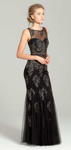 Two-Tone Lace Dress #camillelavie