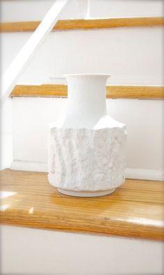 "bareuther ""tree bark"" vase"