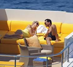 Memorable moment: Naomi Watts as Diana, lies on a yacht with Cas Anvar, who stars as her partner Dodi Fayed Princess Diana And Dodi, Diana Dodi, Princess Of Wales, Princesa Diana, Norfolk, Dodi Al Fayed, Images Of Princess, All The Princesses, Diana Williams