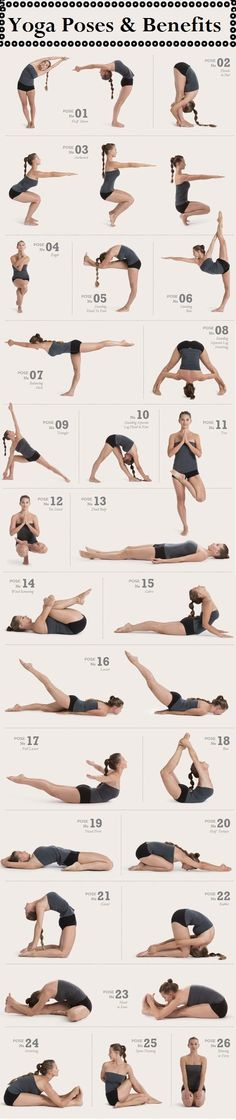 Yoga poses / sequence