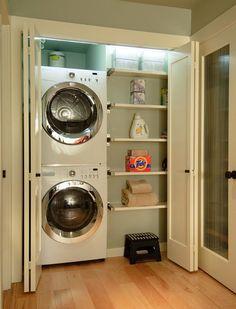 contemporary laundry room by Midori Yoshikawa Design Group