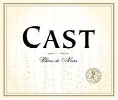 Cast Blanc de Noirs label design