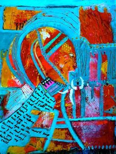 I have heard your Concerns by Rhonda McDuffie Acrylic on paper.