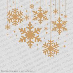 Die Tage werden kürzer, Die Temperaturen gehen stetig nach unten. Bald beginnt die kalte Jahreszeit. Noch schnell das traute Heim gemütlich machen!   Die Schneeflocken kannst du natürlich auch in anderen Farben bei uns bekommen :)  #wandtattoo #schneeflocken #weihnachten #christmas #snow #wallsticker #sticker #aufkleber #advent
