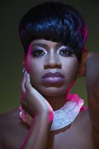 FANTASIA BARRINO short cropped style... R & B singer and actress.