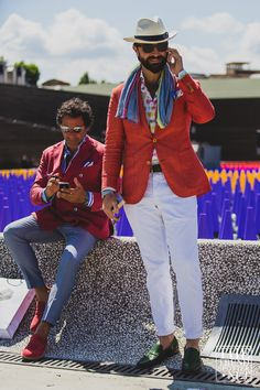 Pitti Uomo Street Style S/S 2016 | Day One